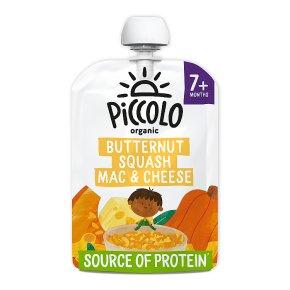 Piccolo Squash Mac & Cheese