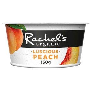 Rachel's Organic Luscious Peach Yogurt