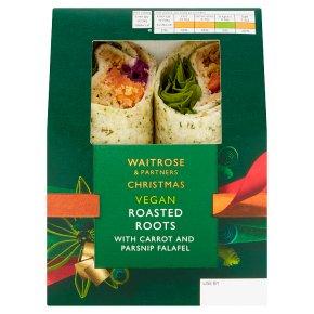 Waitrose Christmas Vegan Roasted Roots Wrap