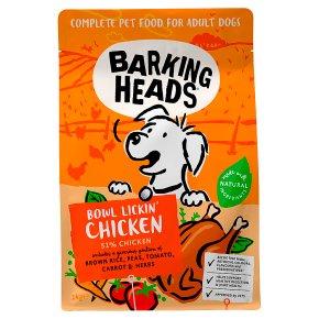 Barking Heads Bowl Licken Chicken
