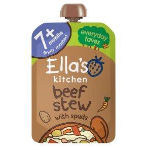 Ella's Kitchen Beef Stew with Spuds