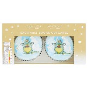 Waitrose Excitable Edgar Cupcakes