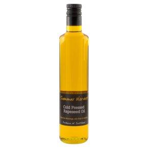 Summer Harvest cold pressed rapeseed oil