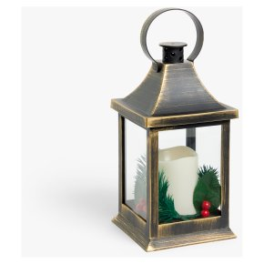 John Lewis Field Small Brass Lantern