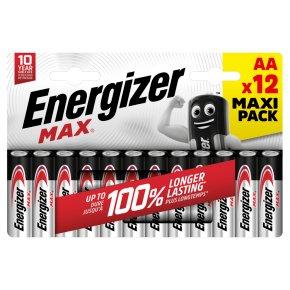 Energizer Max AA LR6 1.5v