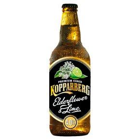Kopparberg Premium Cider with Elderflower & Lime