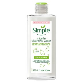 Simple Miscellar Cleansing Water