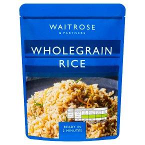 Waitrose Wholegrain Rice