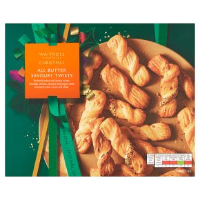 Waitrose Christmas All Butter Savoury Twist Selection