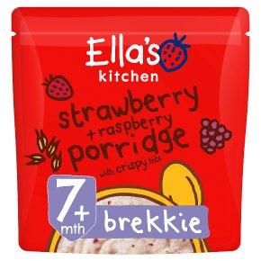 Ella's Strawberry & Raspberry Porridge