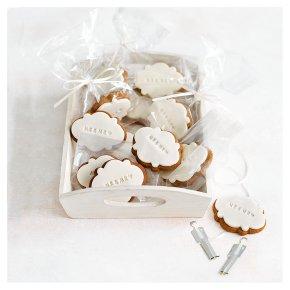 12 Mr & Mr Gingerbread Wedding Biscuits
