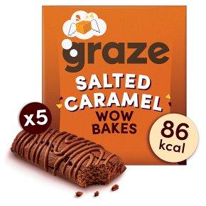 Graze Wow Bakes Salted Caramel