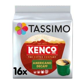 Tassimo Kenco Americano Decaff Pods 16s