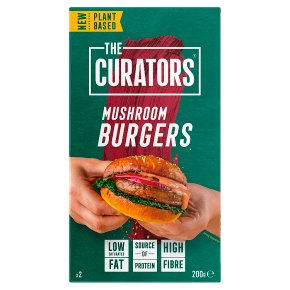 The Curators 2 Mushroom Burgers