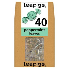 Teapigs Peppermint Leaves 40 Tea Temples