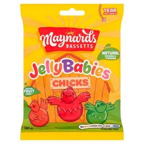 Maynards Bassetts Jelly Babies Chicks Sweets Bag