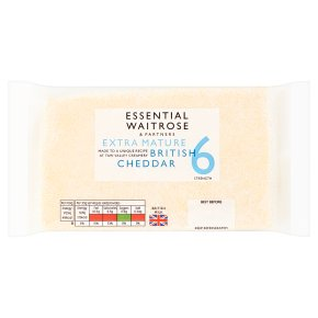 Essential Extra Mature British Cheddar Strength 6