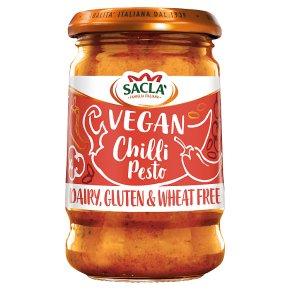Sacla Gluten Free Vegan Chilli Pesto