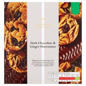 No.1 Dark Chocolate & Ginger Florentines