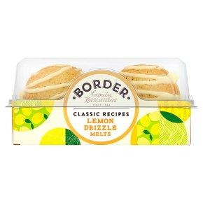 Border Lemon Drizzle Melts