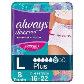 Always Discreet Pants 6 L
