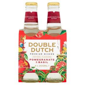 Double Dutch Pomegranate & Basil