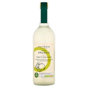 Duchy Organic Ginger & Lime Pressé