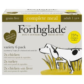 Forthglade Grain Free Poultry Varierty