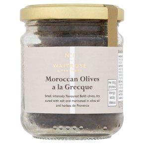 No.1 Black Olives à la Grecque