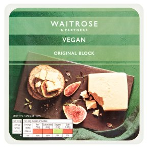 Waitrose Vegan Original Block