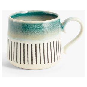 John Lewis Reactive Small Mug Ocean