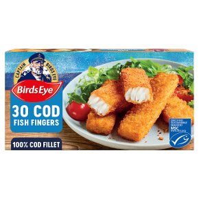 Birds Eye 30 Cod Fish Fingers
