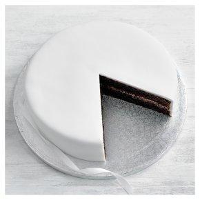 Undecorated Chocolate Cake