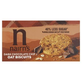 Nairn's Dark Chocolate Chip Oat Biscuits