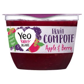 Yeo Valley Organic Apple & Berry Fruit Compote