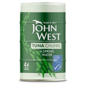 John West MSC Tuna Chunks in Spring Water