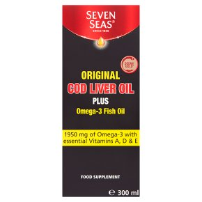 Seven Seas Original Cod Liver Oil Plus