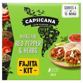 Capsicana Mexican Red Pepper & Herbs Fajita Kit
