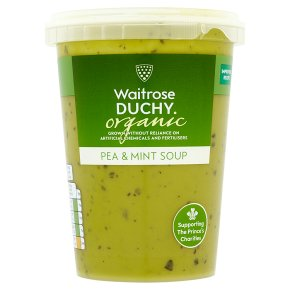 Waitrose DUCHY pea & mint soup