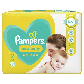 Pampers 2 New Baby Nappies