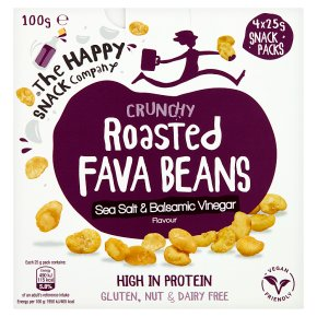 The Happy Snack Co. Roasted Fava Beans Sea Salt & Vinegar
