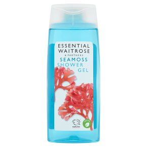 essential Waitrose Seamoss Shower Gel