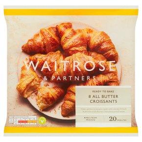 Waitrose Frozen 8 butter croissants