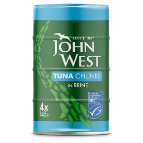 John West MSC Tuna Chunks in Brine