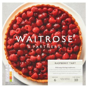 Waitrose Raspberry Tart