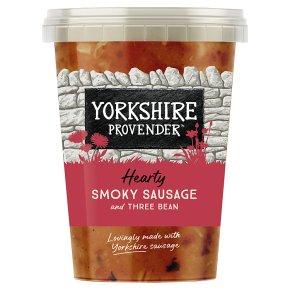 Yorkshire Provender Smoky Sausage & Three Bean Soup