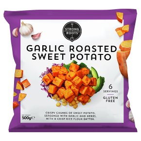 Strong Roots Garlic Roasted Sweet Potato