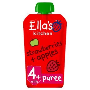 Ella's Kitchen Strawberries + Apple