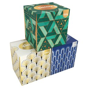 Kleenex collection tissues box