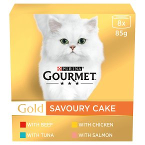 Gourmet Gold Savoury Cake Meat & Fish